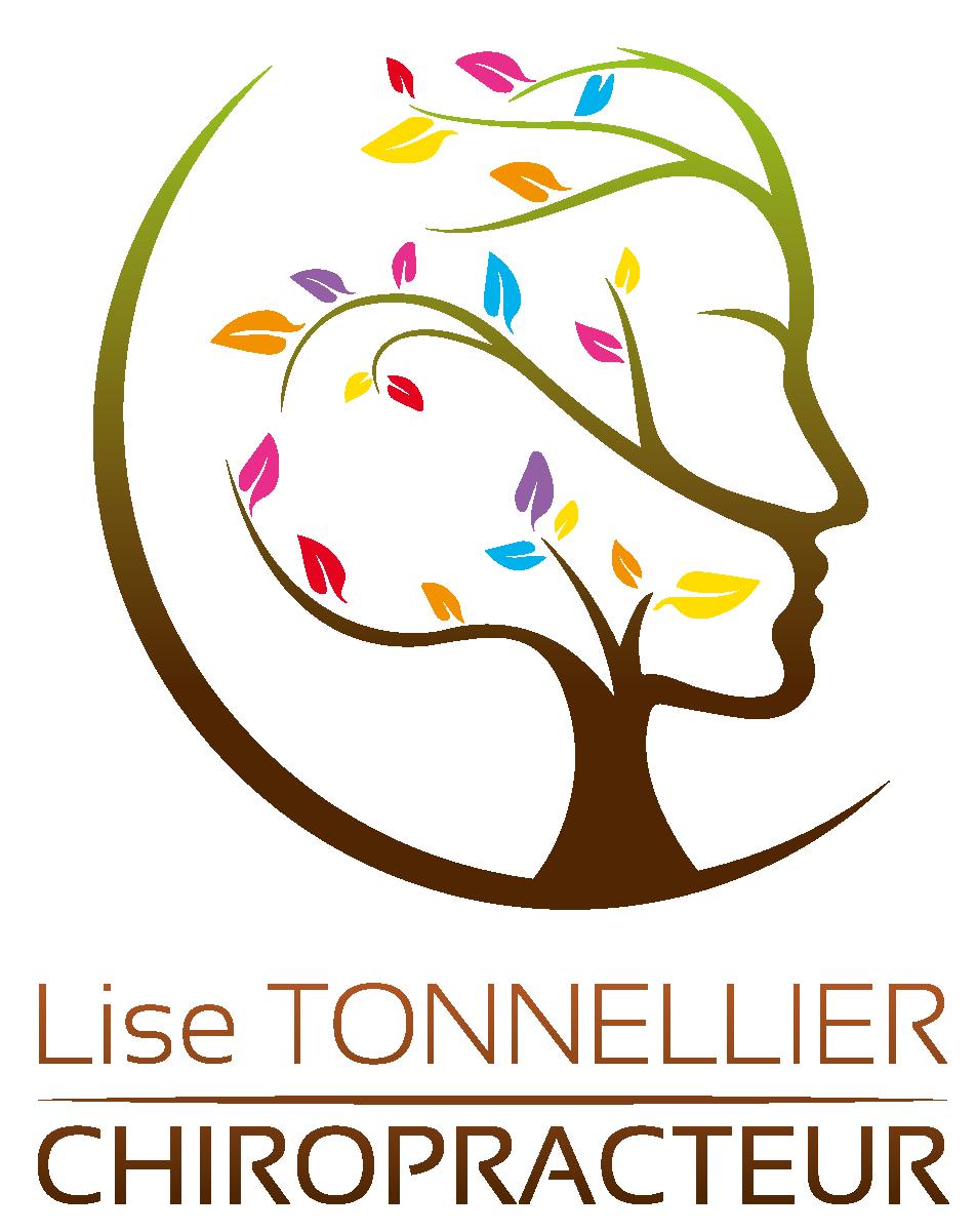 LISE TONNELLIER CHIROPRACTEUR Logo Lise Tonnelier Couleurs