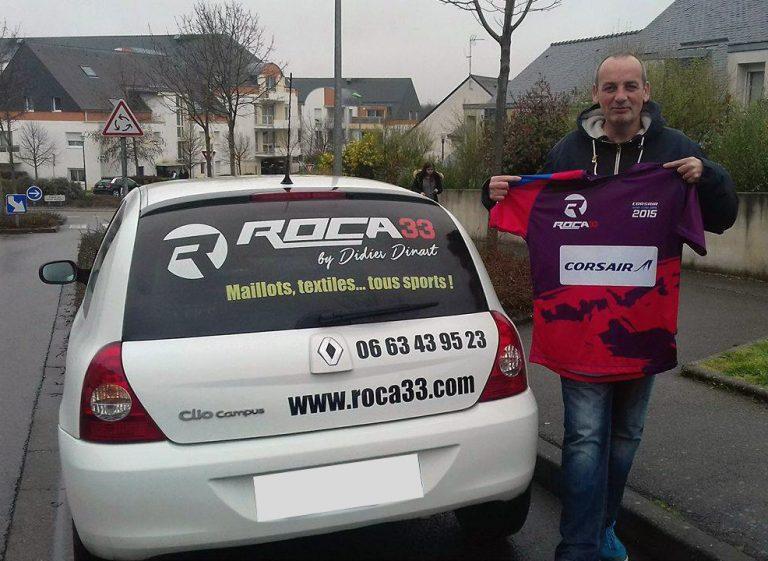 Alain, distributeur de la marque Roca 33 en Bretagne