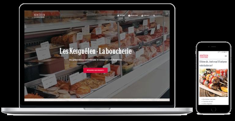 La boucherie des Kerguélen, un site internet pour commander vos produits à Baden